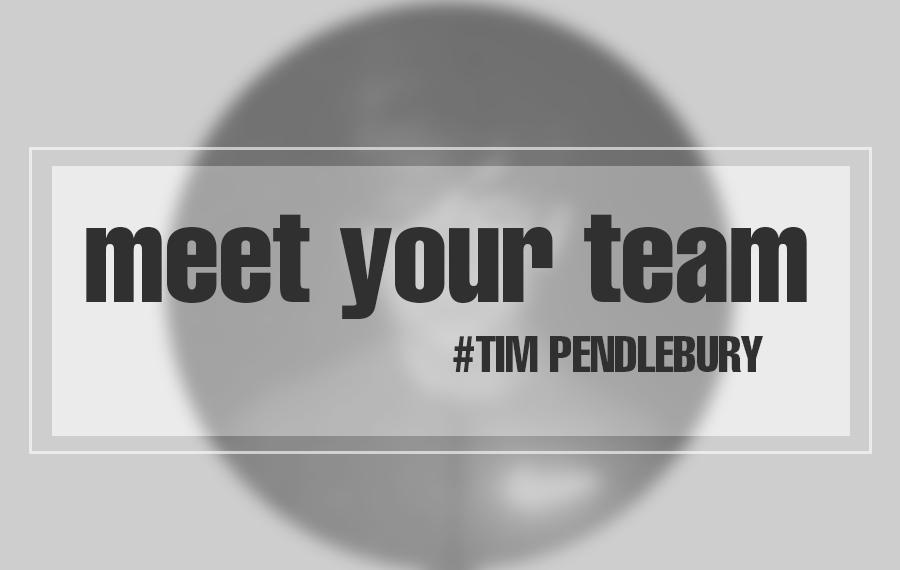 Meet the team-Tim Pendlebury